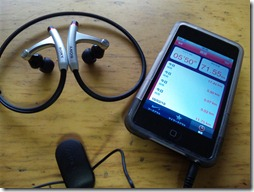 ipod touch 64GB & SONY MDR-AS50G